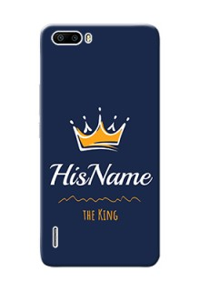 Honor 6 Plus King Phone Case with Name