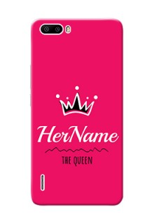 Honor 6 Plus Queen Phone Case with Name