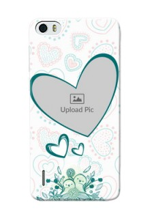 Huawei Honor 6 Couples Picture Upload Mobile Case Design
