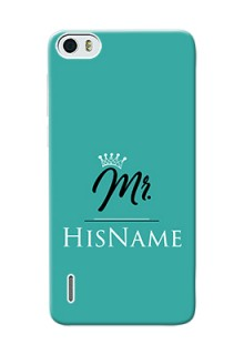 Honor 6 Custom Phone Case Mr with Name