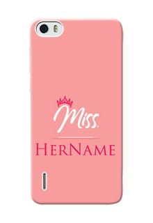 Honor 6 Custom Phone Case Mrs with Name