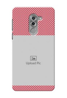 Huawei Honor 6X White Dots Mobile Case  Design