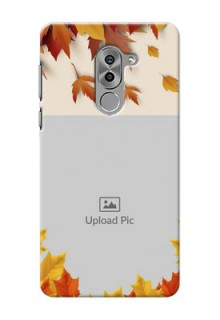 Huawei Honor 6X autumn maple leaves backdrop Design