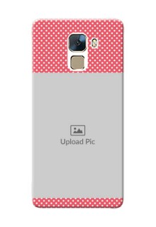 Huawei Honor 7 White Dots Mobile Case  Design