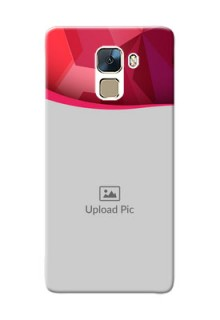 Huawei Honor 7 Red Abstract Mobile Case Design