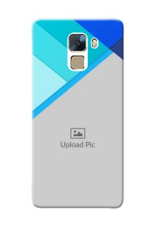 Huawei Honor 7 Blue Abstract Mobile Cover Design