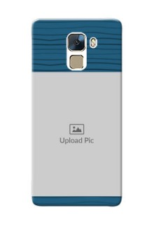 Huawei Honor 7 Blue Pattern Mobile Case Design