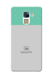 Huawei Honor 7 Lovers Picture Upload Mobile Cover Design