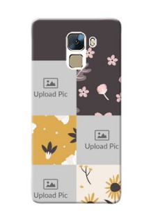 Huawei Honor 7 3 image holder with florals Design
