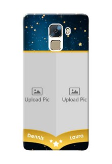 Huawei Honor 7 2 image holder with galaxy backdrop and stars  Design