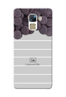 Huawei Honor 7 oreo biscuit pattern with white stripes Design Design