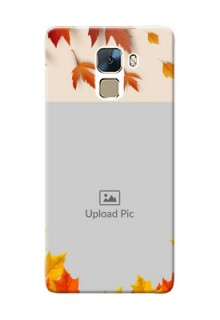 Huawei Honor 7 autumn maple leaves backdrop Design