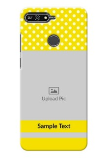 Huawei Honor 7A Bright Yellow Mobile Case Design