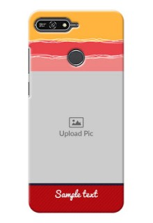 Huawei Honor 7A Colourful Mobile Case Design