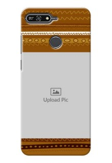 Huawei Honor 7A Friends Picture Upload Mobile Cover Design