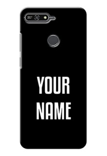 Honor 7A Your Name on Phone Case