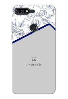 Huawei Honor 7C Floral Design Mobile Cover Design