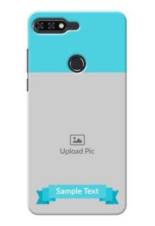 Huawei Honor 7C Simple Mobile Back Cover Design