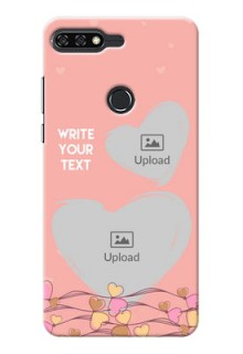Huawei Honor 7C hand drawn love doodle Design
