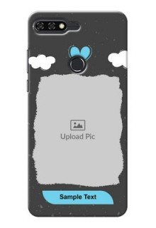 Huawei Honor 7C splashes backdrop with love doodles Design