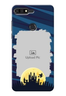 Huawei Honor 7C halloween witch Design