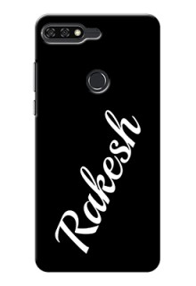 Honor 7C Custom Mobile Cover with Your Name