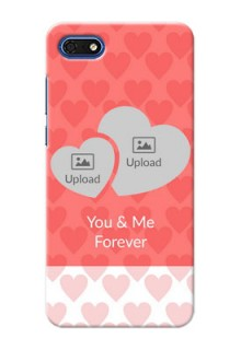 Huawei Honor 7s personalized phone covers: Couple Pic Upload Design