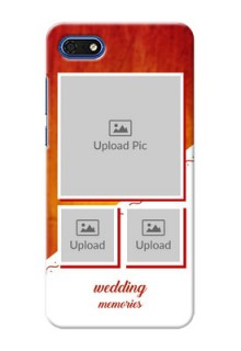 Huawei Honor 7s Personalised Phone Cases: Wedding Memories Design
