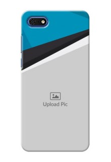 Huawei Honor 7s Back Covers: Simple Pattern Photo Upload Design