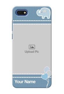 Huawei Honor 7s Custom Phone Covers with Kids Pattern Design