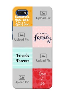 Huawei Honor 7s Customized Phone Cases: Images with Quotes Design