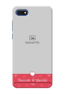 Huawei Honor 7s Mobile Cases: Simple Love Design