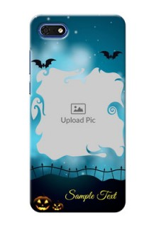 Huawei Honor 7s Personalised Phone Cases: Halloween frame design