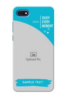 Huawei Honor 7s Personalized Phone Covers: Happy Moment Design