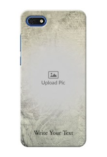 Huawei Honor 7s custom mobile back covers with vintage design
