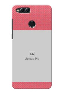 Huawei Honor 7x White Dots Mobile Case  Design