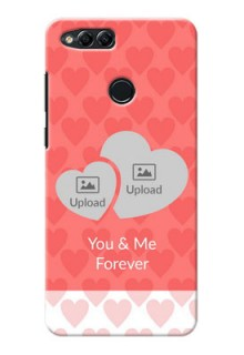 Huawei Honor 7x Couples Picture Upload Mobile Cover Design