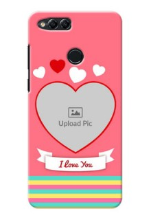 Huawei Honor 7x I Love You Mobile Cover Design