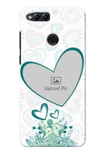 Huawei Honor 7x Couples Picture Upload Mobile Case Design