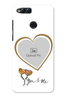 Huawei Honor 7x You And Me Mobile Back Case Design