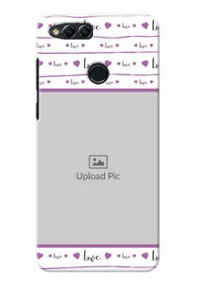 Huawei Honor 7x Couples Mobile Case Design
