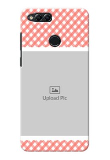 Huawei Honor 7x Pink Pattern Mobile Case Design