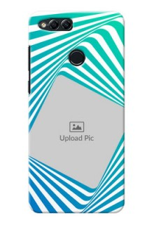 Huawei Honor 7x abstract spiral Design