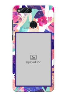 Huawei Honor 7x abstract floral Design