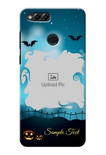 Huawei Honor 7x halloween design with designer frame Design