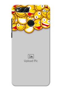 Huawei Honor 7x smileys pattern Design Design