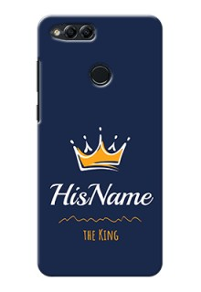 Honor 7X King Phone Case with Name