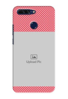 Huawei Honor 8 Pro White Dots Mobile Case  Design