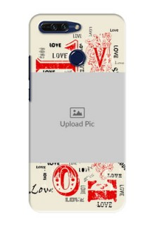 Huawei Honor 8 Pro Lovers Picture Upload Mobile Case Design