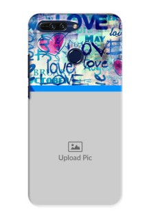 Huawei Honor 8 Pro Colourful Love Patterns Mobile Case Design